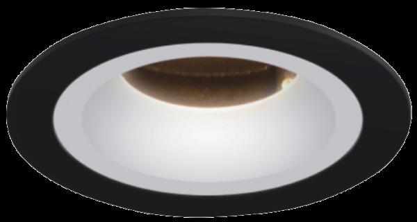 d10ea50bac8fd26727fecc509c52613e 600x320 - Светильник светодиодный потолочный встр. накл., FA, черно-белый, 7,7Вт, IP20, Теп.белый (3000К)