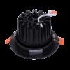 dace410a4a96c8c2ef780fca5d6442f5 100x100 - Светильник светодиодный потолочный встр. накл., DL-KZ, черный, 18Вт, IP20, Теп.белый (3000К)