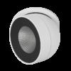 db4177cc14914868d38c348b5d4477e6 100x100 - Светильник светодиодный потолочный встр. поворотный, FA, черно-белый, 12,4Вт, IP20, Теп.белый (3000К)