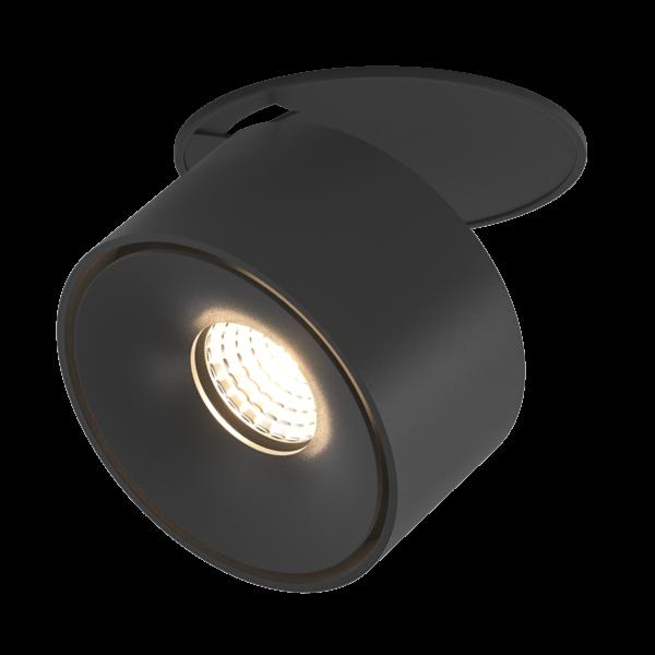e801a21b72f2c553ddb3089ab095fbd7 600x600 - Светильник светодиодный потолочный встр. , GW, черный, 9Вт, IP20, Теп.белый (3000К)