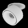 f95dae5daeef0d63c8612dc582cc876f 100x100 - Светильник светодиодный потолочный встр. наклонно-поворотный, LK, Белый, 15Вт, IP20, Теп.белый (3000К)