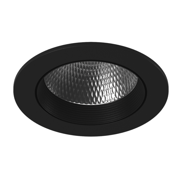 fcb1d590714573d84d9a3cf76c7d4954 600x600 - Светильник светодиодный потолочный встр. накл., DL-KZ, черный, 12Вт, IP20, Теп.белый (3000К)