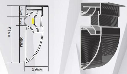 Профиль «LED-стандарт» 5594