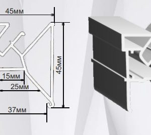 1 41 300x268 - Профиль ПФ-1608