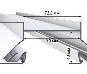 1 42 300x255 - Профиль LumFer N01-WH/BK