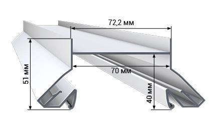 Профиль LumFer N01-WH/BK