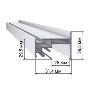 1 46 300x300 - Профиль LumFer PP01 «Парящий» потолок LumFer