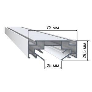 1 47 300x300 - Профиль LumFer PL01 «Парящая» линия LumFer